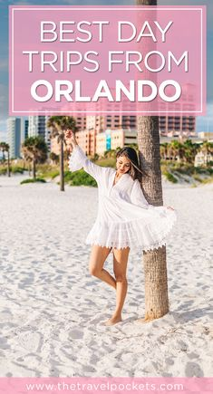 9 awesome day trips from Orlando, Florida, USA #Lakeland #Clearwater #Florida #Orlando