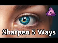 Sharpen 5 Ways with Affinity Photo + Free Macro - Macros Breakfast Ideas Photography Software, Photography And Videography, Photoshop Photography, Photography Tips, Affinity Photo Tutorial, Remove Background From Image, Photo Tips, Photo And Video, Photo Processing