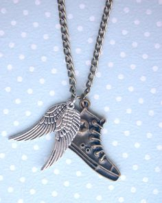 A cute Percy Jackson inspired necklace