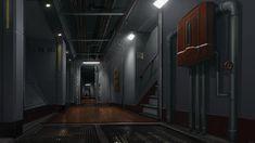 Ship interior by AdamRichards.deviantart.com on @DeviantArt