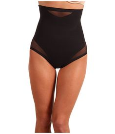Miraclesuit Shapewear Sexy Sheer Shaping Hi-Waist Brief 2785