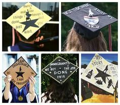 """""""Even more passionately smashing every expectation this weekend. Funny Graduation Caps, Graduation Cap Designs, Graduation Cap Decoration, Graduation Diy, Grad Cap, High School Graduation, Graduation Pictures, Cap Decorations, Hamilton Musical"""