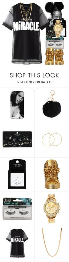 """Untitled #24"" by thaofficialtrillqueen ❤ liked on Polyvore featuring Armitage Avenue, Topshop, Charlene K, Giuseppe Zanotti, Ardell, Mestige, Chicnova Fashion, ASOS and Kenzo"