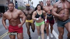 """Danica Patrick as a """"Faux"""" Bodybuilder GoDaddy (2014) """"It's Go Time"""" Commercial (0:30) - by GoDaddy   YouTube    PLOT: """"When Selena wanted to pump up her tanning business, she turned to GoDaddy: 'Get Found. Get Business.' Now, new customers can find her business online, & Selena's store is golden."""""""