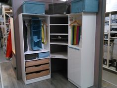Dressing, Closet, Home Decor, Armoire, Decoration Home, Room Decor, Closets, Cupboard, Wardrobes