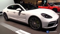 2017 Porsche Panamera Turbo S e Hybrid - Exterior and Interior Walkaroun...