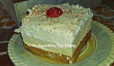 Εύκολο εκμέκ με τσουρέκι, από την Σόφη Τσιώπου! Vanilla Cake, Nutella, Food And Drink, Sweets, Chocolate, Desserts, Cakes, Fine Dining, Tailgate Desserts