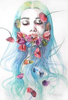 Kadına Şiddet ve Hüznü Resmeden Dal Maso'dan Düşündürecek İllüstrasyonlar Sanatlı Bi Blog 23