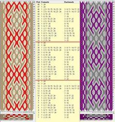 24 tarjetas, 3 colores, repite cada 16 movimientos // sed_628 diseñado en GTT༺❁