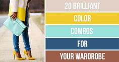 20brilliant color combos for your wardrobe