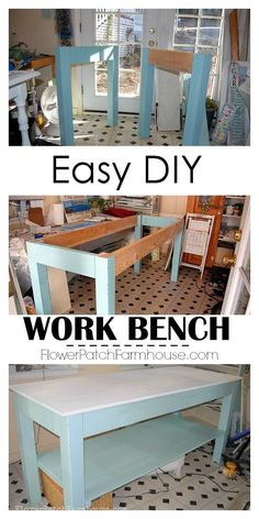 Easy DIY work bench