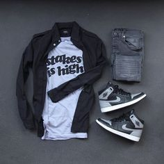 WEBSTA @ colorwaze - Every word I say is a hip hop quotable. #outfitgrid▫️Tee…