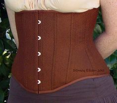How to Make a Corset Using the Welt-Seam Method