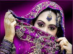 Beautiful Arabian Women Eyes