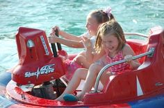 Family fun should include a healthy dose of blaster boats at Andy Alligator's Fun Park in Norman, Oklahoma.