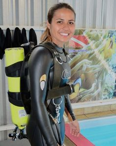 Women's Diving, Diving Suit, Scuba Girl, Womens Wetsuit, Sport Girl, Snorkeling, Leather Pants, Swimsuits, Swimming