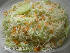 Kapustový šalát Low Carb Recipes, Healthy Recipes, Salad Dressing, Eating Well, Cabbage, Good Food, Food And Drink, Homemade, Baking