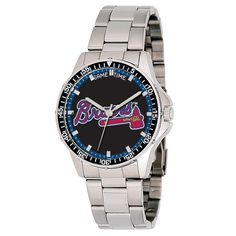 We offer a huge selection of Atlanta Braves MLB baseball watches at http://www.Fan-Watches.com