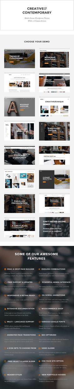 WordPress - Brick - A Contemporary Multi-Purpose Theme | ThemeForest