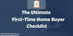 "Looking to buy a house for the first time?  Make sure you have your ""turduckens"" in a row with this helpful guide my team and I put together to help first-time buyers avoid costly mistakes:  ""The Ultimate First-Time Home Buyers Checklist""  Use this handy guide by simply following each step along the journey and you will end up living in the house of your dreams:  http://www.coldwellbankerprime.com/jim.kim/blog/The_Ultimate_First-Time_Home_Buyer_Checklist"