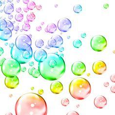 Rainbow Bubbles The Beauty Of Colour Pinterest