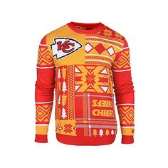 NFL Patches Crew Neck Ugly Sweater