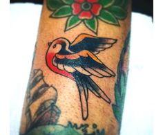 Bird old school tattoo