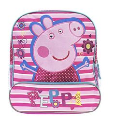 Accessory Innovations Peppa Pig Peppa Backpack -- Continue to the product at the image link. Best Kids Backpacks, Lets Celebrate, Peppa Pig, Pretend Play, School Bags, Travel Style, Innovation, Christmas Decorations, Kids Rugs