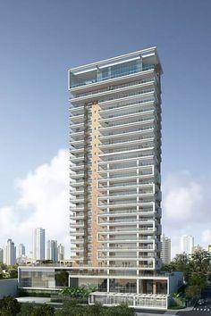 Edifício Marquise Ibirapuera (em construção), da Pablo Slemenson, tem 22 unidades residenciais, com área privativa de 400 a 800 metros quadrados