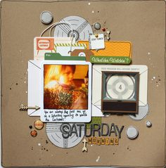 """October Afternoon """"Saturday Morning"""" Saturday Morning by Kylie Cornish"""