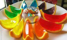 Naranjas de gelatina