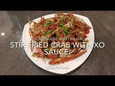 Today I'm showing you how I cook Blue swimmer Crab in XO sauce. Blue Crab Recipes, Cooking Videos, Stir Fry, Seafood, Fries, Stuffed Peppers, Homemade, Ethnic Recipes, Youtube