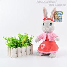 01234f80c 30cm & 46cm Peter Rabbit Bunny Plněný hračka Plyšové měkké hračky Polštář  Charakteristické panenky Dětské dárky