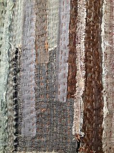 """""""tear and repair"""", cloth made with khadi silk leftover pieces and Japanese…"""