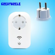 Remote socket 102mm*62mm*40mm 16A EU Standard Smart PortabIe Power Socket Switch TraveI Remote PIug Socket Home AppIiance