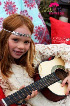 Silver Star headbandSILVER Baby Headband 4 by catchthatrainbow