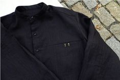 "pánská košile \""paralelka\"" černý len Polo Ralph Lauren, Polo Shirt, Mens Tops, Shirts, Fashion, Moda, Polos, Fashion Styles, Polo Shirts"