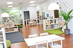 Calm, peaceful, stress free environment encourages creative play, good behavior and discovery.