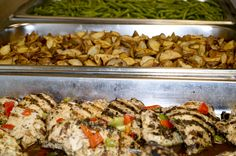 We do not only provide beautiful setups but quality food products as well!  -Royal Catering Team
