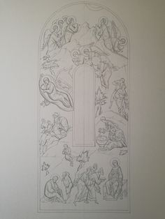 Byzantine, Sketches, Layout, Angel, Drawings, Pattern, Inspiration, Dibujo, Sacred Art