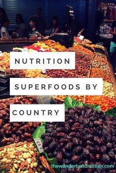Nutrition Superfoods by Countries and how to eat your nutrients while abroad. Enjoy these tasty cuisines and plan to eat healthy on your next adventure! ******************************************** nutrition on the road, what to eat on the road, nutrition for travelers, superfoods,