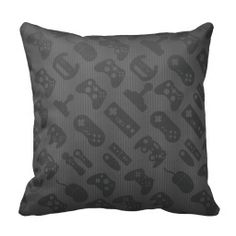 Teen Girl Bedrooms - Zometiceds Pillow Cover inches for living room Gamer Pattern Black Cushion Cover Throw Pillowcase -- Find out more by going to the picture link. (This is an affiliate link). Designer Throw Pillows, Decorative Throw Pillows, Black Cushion Covers, My Bebe, Gamer Room, Black Pillows, Man Cave Home Bar, 20x20 Pillow Covers, Home Textile