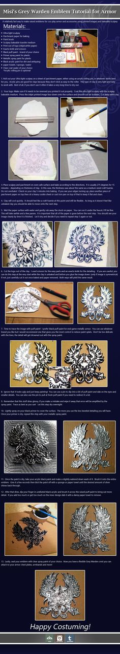 Grey Warden Emblem Tutorial by misi.deviantart.com on @deviantART