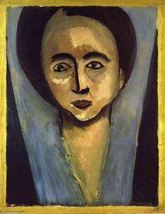 'Portrait of Saul Stein', 1916 von Henri Matisse (1869-1954, France)