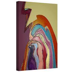 ArtWall Dean Uhlinger 'Bandada Flock' Gallery-wrapped