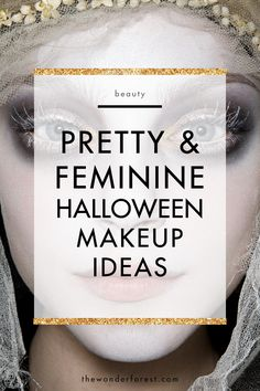 With Halloween just around the corner, you might be trying to come up with a unique look that can be recreated easily. Don't worry, I've got you covered! While spooky is always fun, sometimes us girls just want to be girls! I've compiled a bunch of my favourite girly and feminine makeup looks for