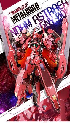 [Metal Build] Gundam Astraea Type F Custom Avalanche Dash OP Set Now Official [November Website Exclusive] Gundam Toys, Gundam 00, Custom Gundam, Gundam Model, Metal Build, Anime, Real Style, Robots, Desktop