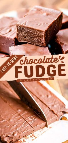 Looking for Christmas in July recipes? Then bookmark this easy chocolate fudge recipe now. A bright chocolate dessert idea that only needs three ingredients and three steps - melt, mix, chill. Save… Easy Chocolate Fudge, Chocolate Desserts, Fudge Recipes, Dessert Recipes, Food For A Crowd, Christmas In July, Cookie Bars, Candies, Sweet Recipes