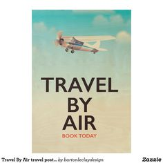 Travel By Air travel poster