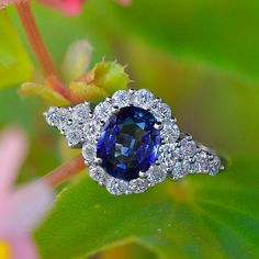 Kate Sapphire Ring by SarahNicoleJewelry on Etsy
